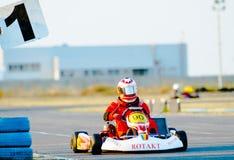 Campeonato nacional de Karting Fotos de Stock