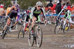 campeonato nacional de la Ciclo-cruz - hombres de la élite Foto de archivo