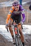 campeonato nacional de la Ciclo-cruz - hombres de la élite Imagen de archivo