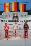 Campeonato que compite con 2012 del carro europeo de la FIA Imagen de archivo libre de regalías