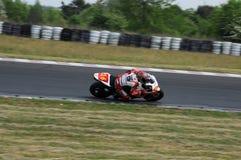 Campeonato que compite con de la moto Fotos de archivo libres de regalías