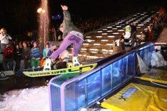 Campeonato ucraniano da snowboarding Imagens de Stock