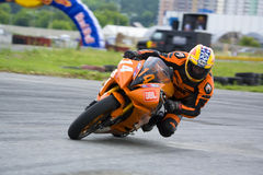 Campeonato ucraniano do velomotor Foto de Stock