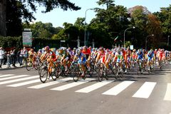 Campeonatos 2008 del mundo del camino de Uci Imagen de archivo libre de regalías