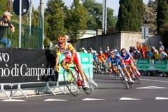 Campeonatos 2008 del mundo del camino de Uci Fotos de archivo