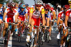 Campeonatos 2008 do mundo da estrada de Uci Fotografia de Stock Royalty Free