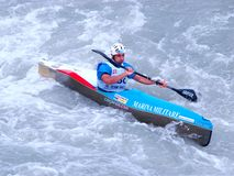 Campeonatos 2008 do mundo de Wildwater Imagens de Stock Royalty Free