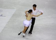 Campeonatos 2010 el mundo de ISU del patinaje artístico Fotografía de archivo