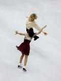 Campeonatos 2010 el mundo de ISU del patinaje artístico Imagen de archivo libre de regalías