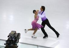 Campeonatos 2010 el mundo de ISU del patinaje artístico Foto de archivo