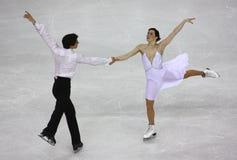 Campeonatos 2010 el mundo de ISU del patinaje artístico Fotos de archivo