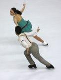 Campeonatos 2010 el mundo de ISU del patinaje artístico Fotos de archivo libres de regalías