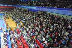 Campeonatos 2011 de Ásia do Badminton Fotografia de Stock Royalty Free