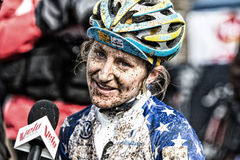 Campeonatos 2013 do mundo de Cyclocross Fotografia de Stock Royalty Free