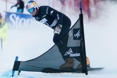 Campeonatos 2013, Stoneham del mundo de la snowboard de FIS foto de archivo