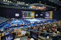 2013 campeonatos artísticos europeus da ginástica Fotografia de Stock