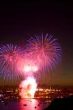 Campeonatos británicos 2010 de los fuegos artificiales Fotografía de archivo