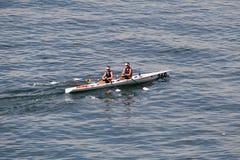Campeonatos costeros que reman Salónica del mundo Imagen de archivo
