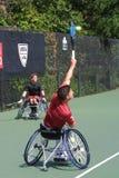 CAMPEONATOS de la SILLA DE RUEDAS de USTA 2018/Dwight Davis Tennis Center fotos de archivo libres de regalías