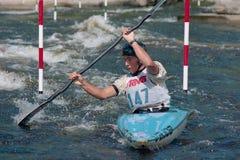 Campeonatos de Whitewater del canadiense Imagenes de archivo