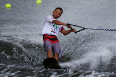 Campeonatos del esquí y de la estela de Putrajaya Nautique Fotos de archivo