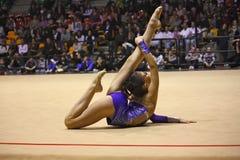 Campeonatos del italiano de la gimnasia rítmica Fotos de archivo libres de regalías