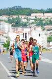 Campeonatos del mundo del Duathlon foto de archivo libre de regalías
