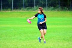 Campeonatos do Frisbee Imagem de Stock