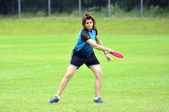 Campeonatos do Frisbee Fotografia de Stock