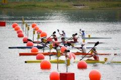Campeonatos do italiano da canoa e do caiaque Fotografia de Stock Royalty Free