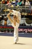 Campeonatos do italiano da ginástica rítmica imagens de stock