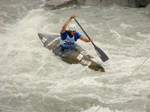 Campeonatos do mundo de Wildwater   Foto de Stock