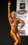 2014 campeonatos do universo de NPC Fotografia de Stock Royalty Free