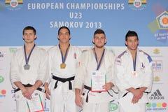 Campeonatos europeos 2013 del judo Fotografía de archivo