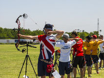 Campeonatos europeos del tiro al arco, 2014 imagenes de archivo