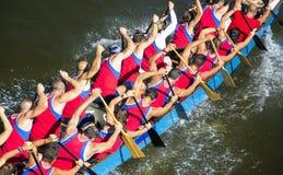 Campeonatos franceses 2012 de Flatwater do Canoa-Caiaque Imagens de Stock Royalty Free