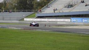 Campeonatos grandes da fórmula A1 de Prix da aceleração vídeos de arquivo