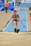 Campeonatos interiores del atletismo balcánico Foto de archivo libre de regalías