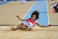 Campeonatos interiores del atletismo balcánico Imagenes de archivo