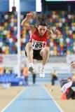Campeonatos interiores del atletismo balcánico Fotografía de archivo libre de regalías