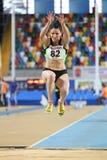 Campeonatos interiores del atletismo balcánico Fotografía de archivo
