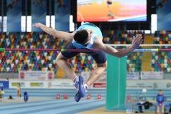 Campeonatos interiores del atletismo balcánico Fotos de archivo
