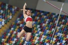 Campeonatos interiores del atletismo balcánico Fotos de archivo libres de regalías
