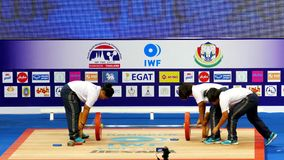 Campeonatos internacionales 2017 del mundo de la juventud de la federación IWF del levantamiento de pesas almacen de video