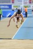 Campeonatos internos do atletismo de Balcãs Fotografia de Stock Royalty Free