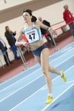 Campeonatos internos do atletismo de Balcãs Fotografia de Stock