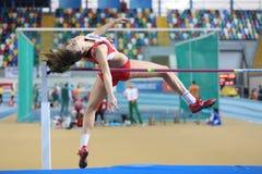Campeonatos internos do atletismo de Balcãs Fotos de Stock