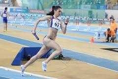 Campeonatos internos do atletismo de Balcãs Imagem de Stock Royalty Free