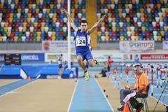 Campeonatos internos do atletismo de Balcãs Imagens de Stock