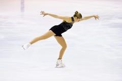 Campeonatos italianos patinaje artístico 2012 Foto de archivo libre de regalías